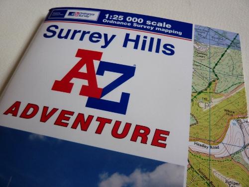 A-Z Surrey Hills