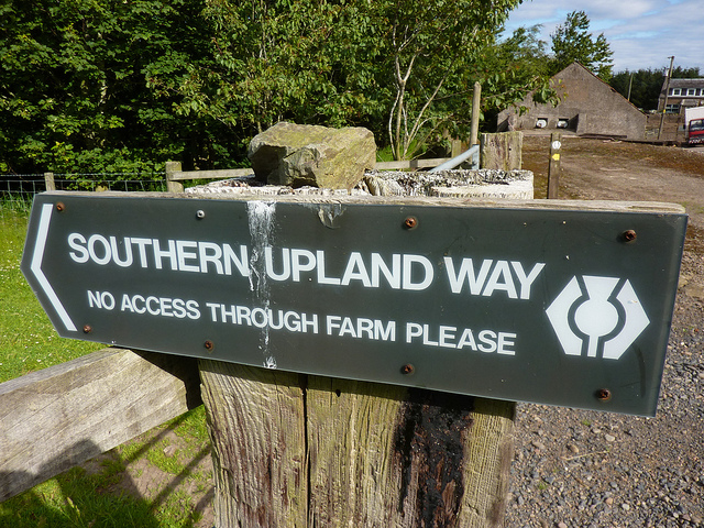 No Access Through the Farm